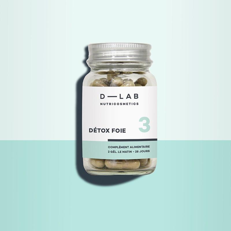 Détox foie d-lab