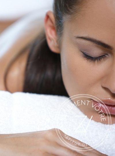 Massage en institut pour femme