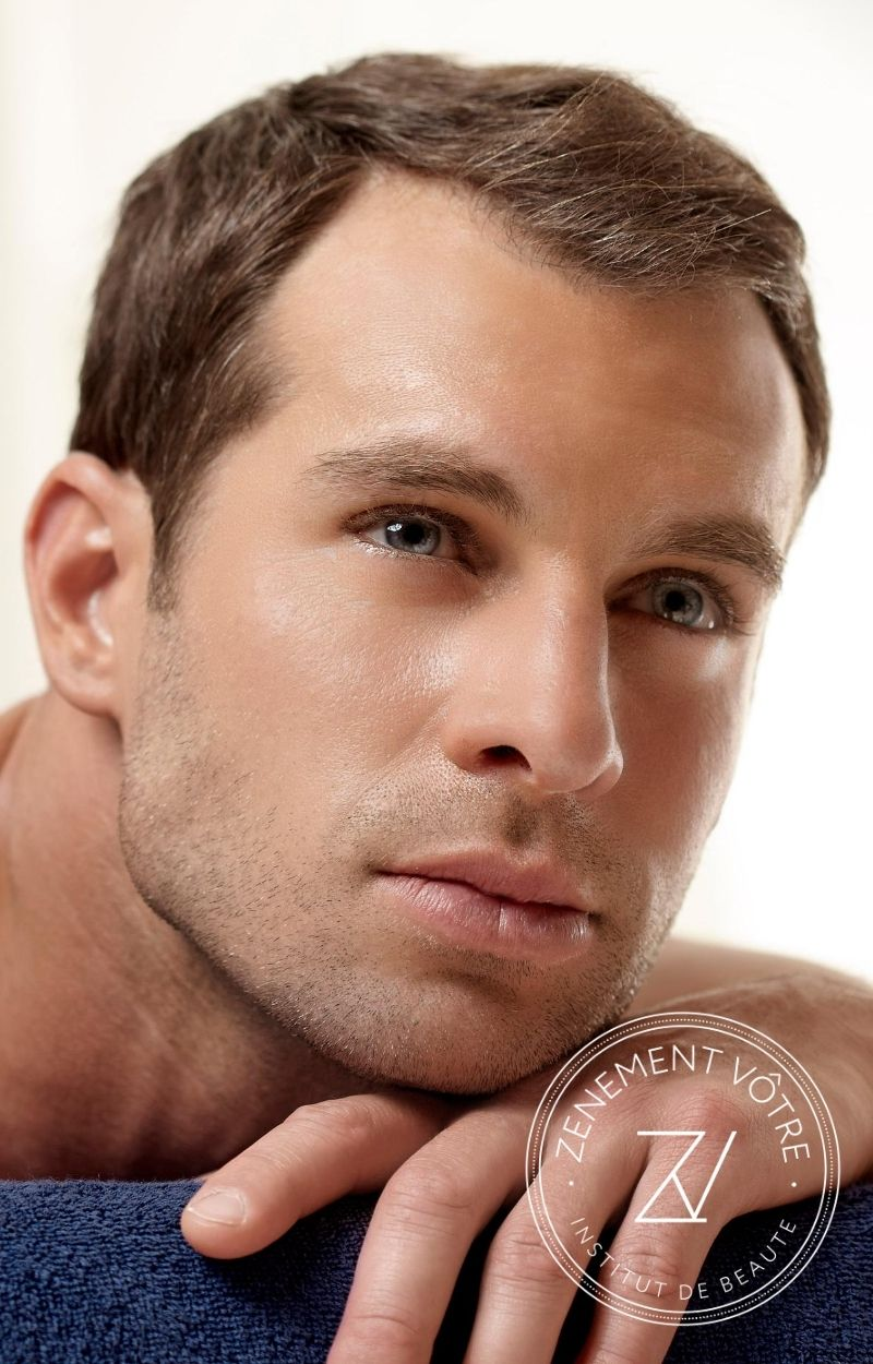 soins du visage pour homme en institut