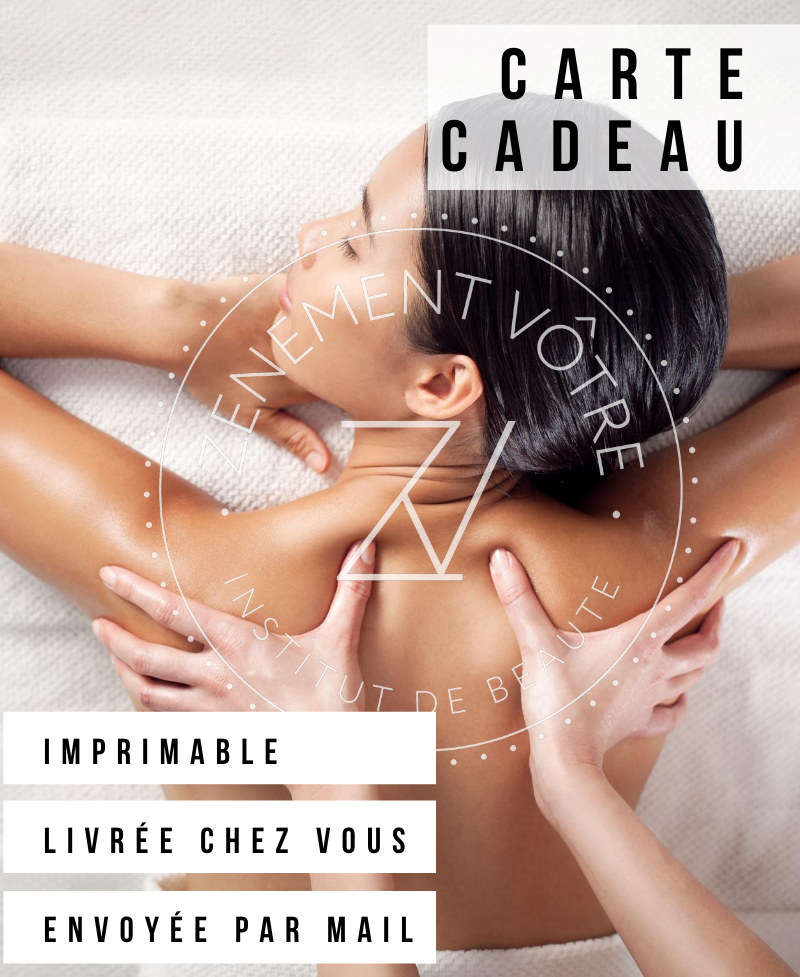 carte cadeau massages en institut
