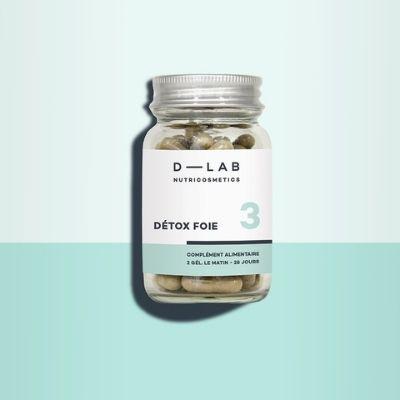 Détox foie dlab nuricosmetics