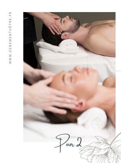Carte cadeau massage en duo